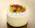 フルーツショートケーキ 4号サイズ