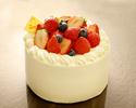 いちごのショートケーキ 3号サイズ