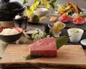 【炉釜ステーキディナーコース】神戸牛サーロイン100g