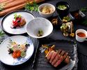 【ディナー】◆夕凪-Yunagi-◆神戸牛フィレコース+海鮮付き<事前ネット予約割>