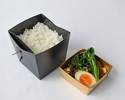 【Take Out】 Lunch Box Soy Sauce Braised Pork Belly Rice