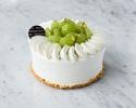 【Take Out】 Shine Muscat Whole Shortcake 15cm