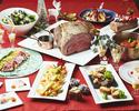 【ディナー】クリスマスディナーブッフェ シニア(65歳~)《100分制》