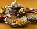 平川御膳~茸の天麩羅と松茸土瓶蒸し~