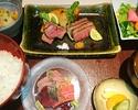 松阪牛ステーキ膳