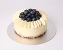 Blueberry Cheese Cake 15cm