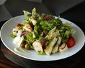 【お野菜たっぷりシーフードサラダランチ】+選べるカフェ付き(90分制)
