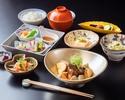 【11:30限定】主菜が選べる御膳「一旬五菜」~ドリンク付き90分ランチ