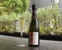 【ランチ/ダイニング席】9月平日限定Tasting Courseに乾杯スパークリングワインをサービス! ¥5,500