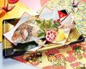 【908】祝い鯛の塩焼き