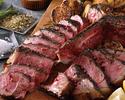 【2階席 ディナー】The Steak アンガス牛Tボーン
