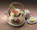 【9月限定】「松茸の土瓶蒸し」と旬の懐石コース+選べる1ドリンク付(※個室の希望はご相談下さい)