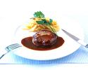 【テイクアウト】国産牛ハンバーグと季節の横浜野菜 特製デミグラスソース