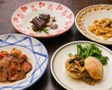 【Central Italy lunch menu】