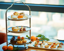【Weekend:Semi Private Room A 】Apricot Afternoon Tea🍊+1 Original Cocktail