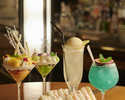 フルーツパフェと選べるノンアルコールカクテル