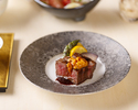 【乾杯ノンアルスパークリング付】真鯛の土鍋飯と黒毛和牛グリルの特別ランチ会席 8品