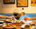 【秋のスイーツ堪能・レディースシェアディナー】渡り蟹のパスタやサーロインステーキなど全5品