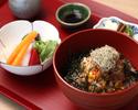 雑穀米の海鮮丼ご膳