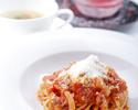 【七五三ディナー】写真撮影・乾杯ドリンク・お子様のお料理無料特典付き!肉or魚から選べるメインや2種類の蟹の名物パスタ等5皿
