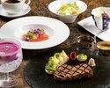 【数量限定】ディナー・和栗モンブラン付き近江牛ステーキコース