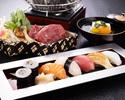 【夕食】 寿司付会席-賢木-
