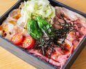 ローストビーフ&ローストポーク丼