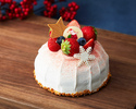 【Early Bird by 11/15, Online Exclusive Offer】 Jersey Cream Strawberry Shortcake 12cm