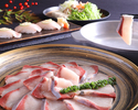 長崎産ハーブ鯖しゃぶコース・飲み放題付 全7品
