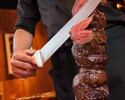 [10/1-reservation] [Dinner Churrasco] 15 types of Churrasco including Wagyu beef, about 50 Brazilian dishes, with dessert buffet