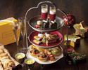 《12/18,12/25,12/26》ロクシタン×クリスマス 乾杯スパークリングワイン付きアフターヌーンティー
