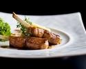 【平日予約限定】魚料理・肉料理、両方を楽しめる全4品特別価格ディナーコース<ペアリングワイン付き、デザートワイン1杯プレゼント>
