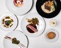 「総額1,000万円キャッシュバック対象プラン」【DINNER COURSE】アミューズ、前菜、魚料理、肉料理、デザートの全5品