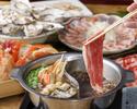 豪華飲み放題付き―ごちそう食べ放題フェア― 牛・豚しゃぶしゃぶと寿司15種食べ放題
