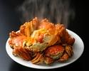 【シェフお任せコース】上海蟹の姿蒸し・フカヒレ・山形牛炭火焼き などを堪能