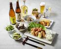 ◆◆くらふと自慢のから揚げを堪能◆◆2H飲み放題付き宴会コース!お酒に合うおつまみや、当店自慢のから揚げを堪能する、全6品カジュアル宴会コース