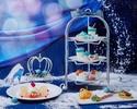 ◇【12/18~12/26 大聖堂を望む窓際席確約 カフェフリー】Princess Afternoon tea ~シンデレラの夢見るアフタヌーンティー~