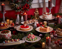 【土日祝ディナー11月3日-12月19日】 プレクリスマス&ベリースイーツビュッフェ ドリンクバー付~公式HPプラン!!大人様⇒10%OFF