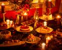 【ディナー クリスマス&ベリースイーツビュッフェ】12/23~12/25限定 ドリンクバー付~公式HPプラン!!