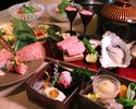【リニューアル特別価格】季節の特撰食材 焼肉懐石コース シャトーブリアン付+フリードリンク付き