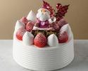 【早割・NOC割】クリスマスショートケーキ