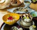 "Kaiseki Meal ""Matsukaze"" 8,800 JPY"