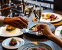 【クリスマスディナー2021★早割】乾杯シャンパン付き!魚料理と肉料理のWメインなど贅沢食材を楽しむ全6皿(12/24~26)