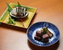 Kyoto-style Kaiseki ''Yume no Ukihashi'' 55,000JPY (Over 10 People)